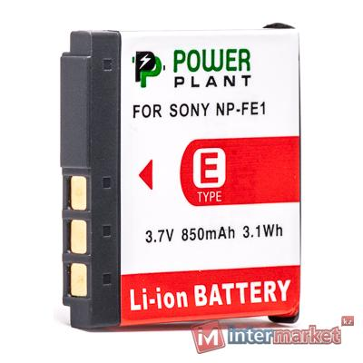 Аккумулятор PowerPlant Sony NP-FE1 850mAh