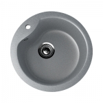 Врезная кухонная мойка EcoStone ES 12 309 (темно- серый)