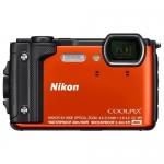 Компактный фотоаппарат Nikon Coolpix W300, оранжевый