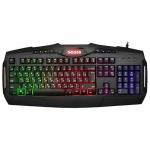 Клавиатура проводная игровая Defender Goser GK-772L, ENG/RUS, USB, RGB подсветка, GK-772L