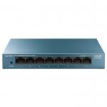 Коммутатор, TP-Link, LS108G, 8-портовый 10/100/1000 Мбит/с настольный коммутатор