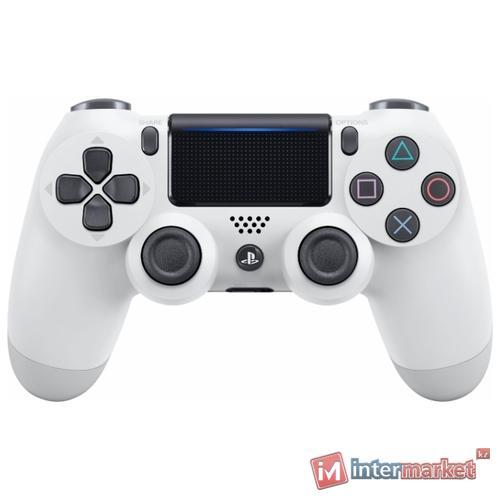 Джойстик Sony PS4 Dualshock Cont Glacier White v2/RUS (CUH-ZCT2E)