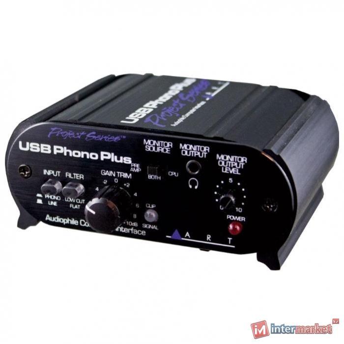 Звуковая карта ART USB Phono Plus SP