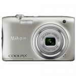 Цифровая камера Nikon CoolPix A100, 20.1Mpx, 4.6-23mm, 5x zoom, JPEG, f/3.2-6.5, 2.7'', Silver