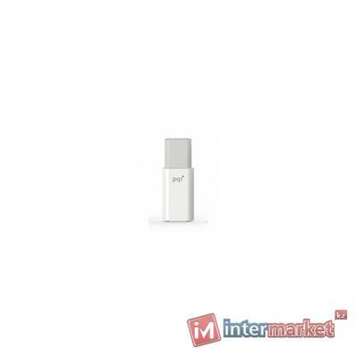 Флешка 8GB 2.0 PQI 6176-008GR3001 белый серый
