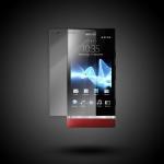 Защитная плёнка Adpo Sony Xperia P (22i)